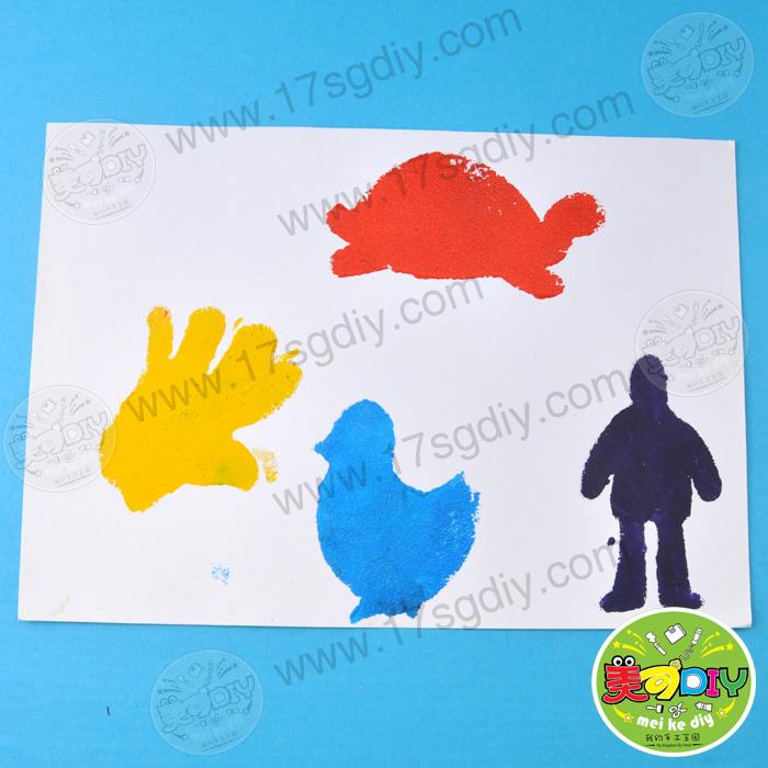 幼儿园儿童手工diy创意绘画制作diy