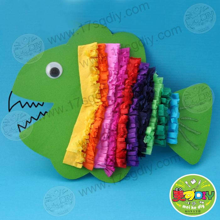 混色皱纹纸十色54*100幼儿园儿童手工制作diy创意基础