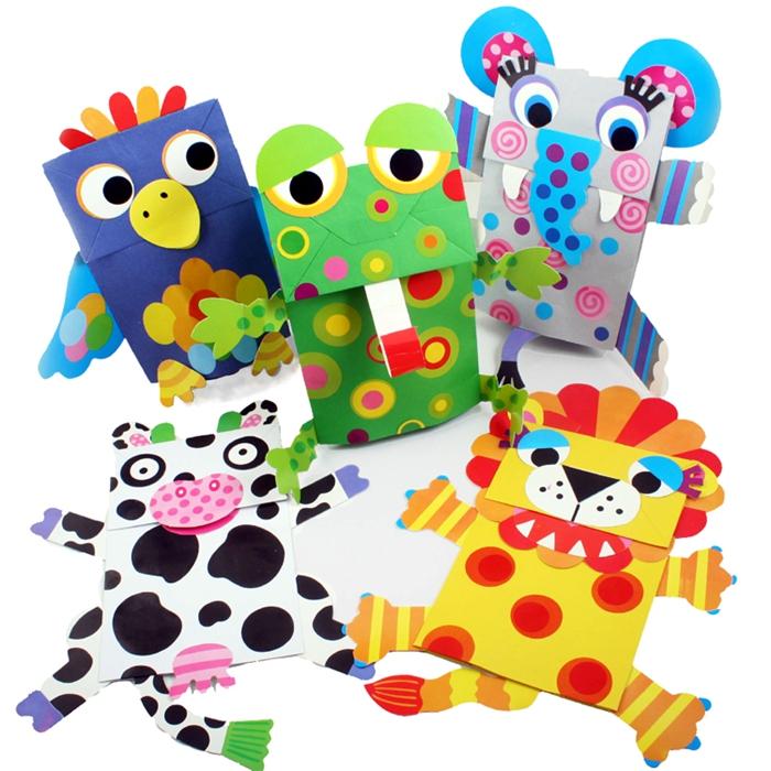 商品均为opp(塑料袋)包装,非成品哦~~ 此宝贝为彩色纸袋,动物配件