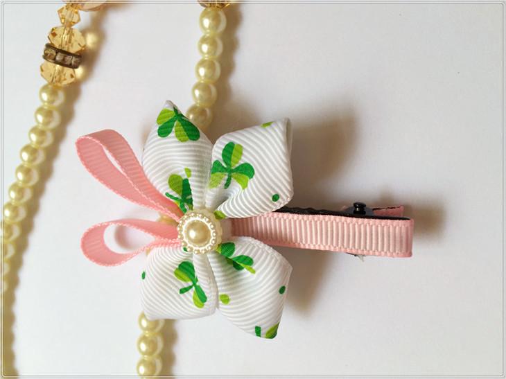 艾薇儿 韩版可爱小蝴蝶发夹边夹小清新b020
