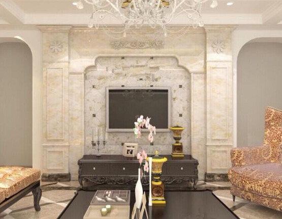 别墅电视背景墙 - 尚益石材
