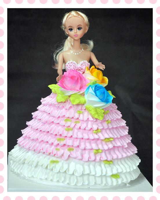 桐城生日蛋糕/芭比蛋糕/娃娃蛋糕/儿童蛋糕/个性蛋糕