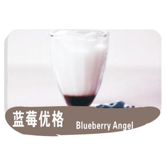 蓝莓优格图片