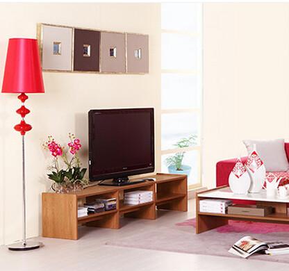 曲美家具 木质电视柜 现代简约 客厅电视柜欧式/北欧0841-2011c-tv1-2