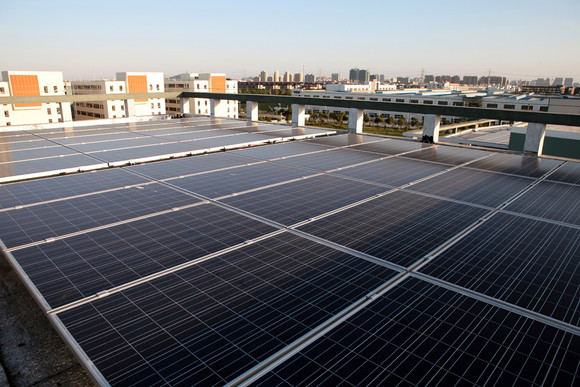 上海晶科 太阳能光伏发电系统