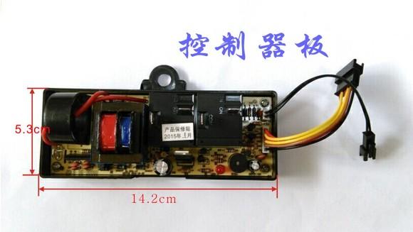美的电热水器f80-21b1电路接线实物图