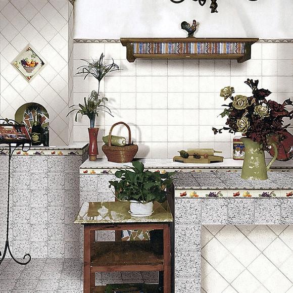 唐古拉地板砖欧式仿古砖餐厅玄关过道防滑地砖沙烁