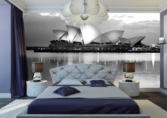 都市魅力 tc-2196 魅力悉尼歌剧院 电视背景墙图片