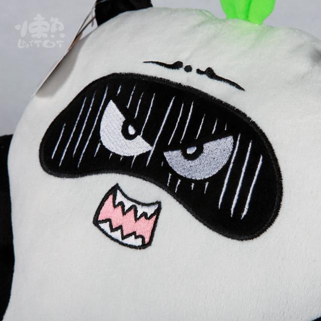 正品懒熊猫拖拖可爱超萌卡通暖手抱枕靠垫原创玩偶礼物送女生特价