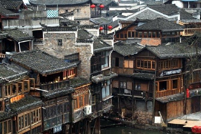 壁纸 风景 古镇 建筑 街道 旅游 摄影 小巷 670_446
