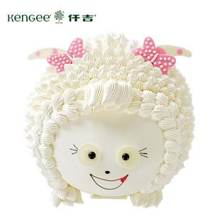 美羊羊儿童生日蛋糕