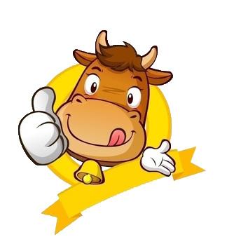微信可爱动物头像牛