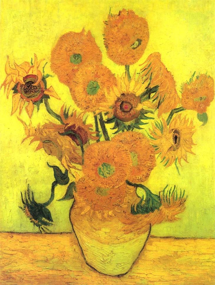 梵高的向日葵油画