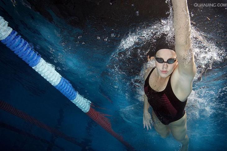 自由泳图片