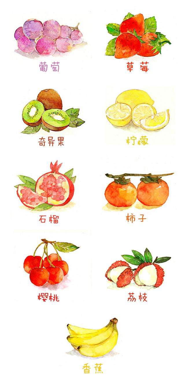 微信水果动物头像