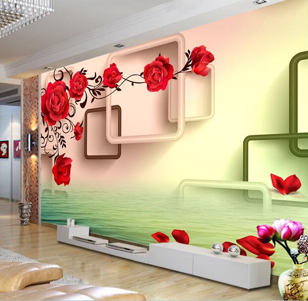 3d立体欧式墙纸影视墙电视背景墙壁纸无缝墙布无纺布