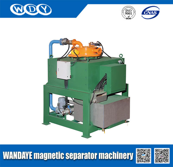 基于这种特殊结构,水冷电磁浆料自动除铁机具有以下优点:磁感应强度