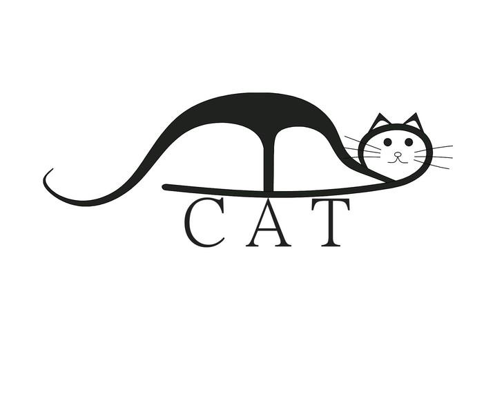 超级可爱萌猫的简笔画-简单的卡通萌物简笔画/小猫简