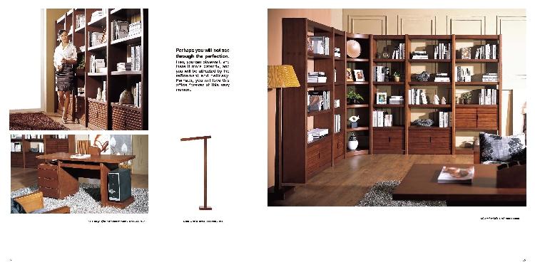 书桌书柜组合尺寸图片