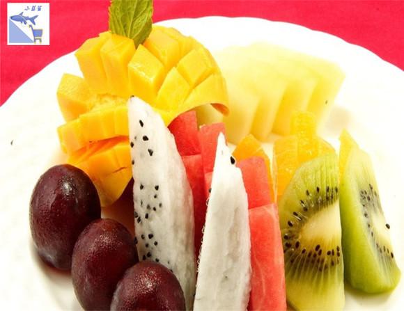 水果拼盘(贵妃芒果,火龙果,西瓜,菠萝)任意组合可留言图片