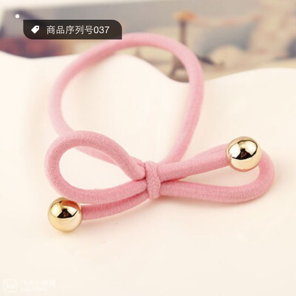 韩版蝴蝶结--弹力头绳