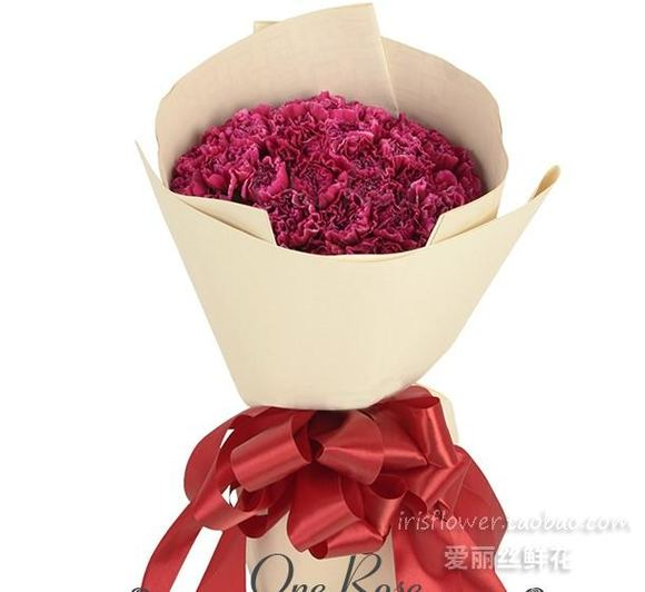 韩式花束包装图片