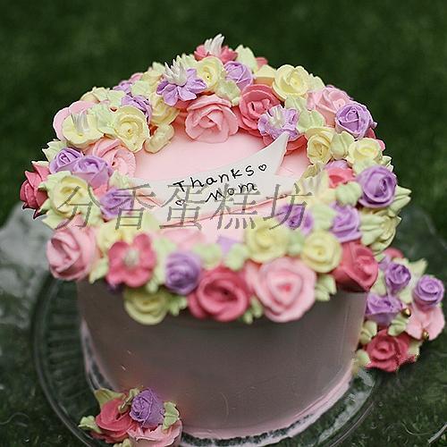 幼儿蛋糕纸盘手工   彩虹