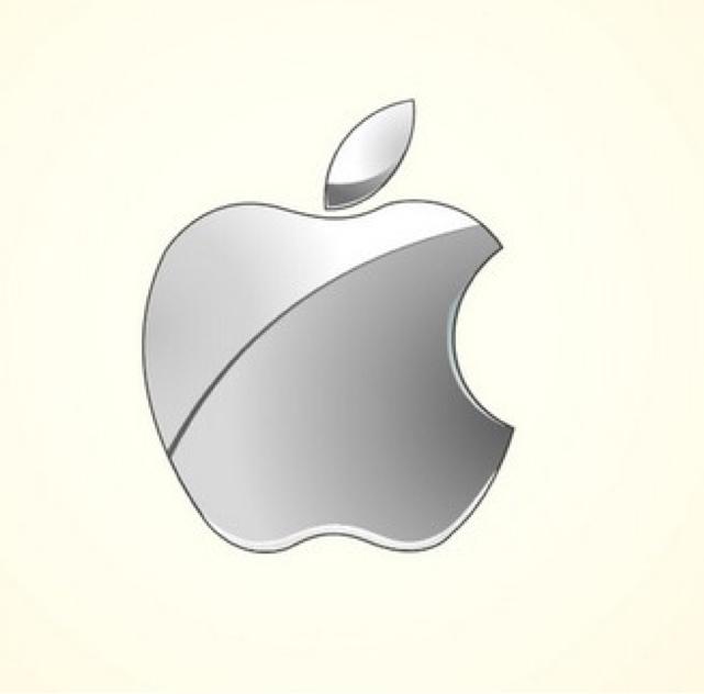 苹果电脑图标矢量图