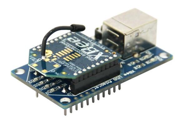 xbee无线通讯模块采用zigbee无线通信技术