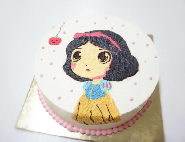 个性化3d手绘蛋糕