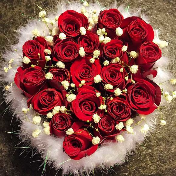 最深最美的爱——玫瑰花盒 - 春添花花鲜花坊