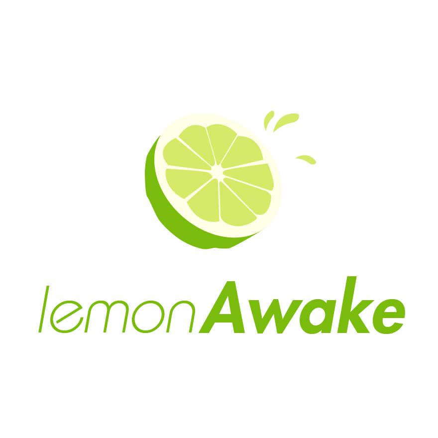 柠檬标志手绘的
