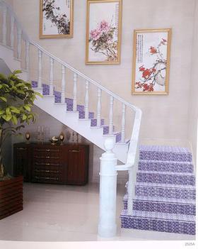 家用整体楼梯踏步 塑胶楼梯踏步 木纹踏步 大理石花纹