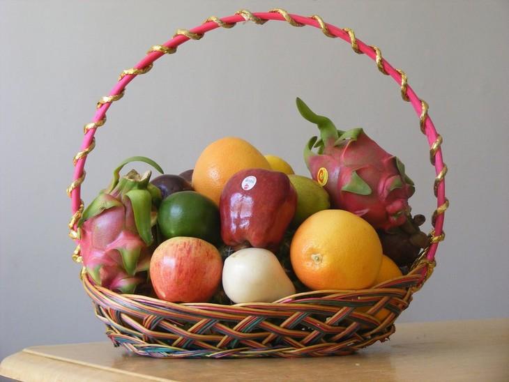 食用油桶手工制作果篮