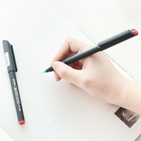 晨光文具会议笔mg2180微孔笔博鳌亚洲论坛制定会议笔签字笔