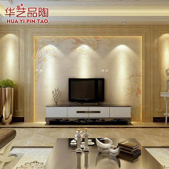 欧式壁画立体3d圣花墙砖卧室客厅电视背景