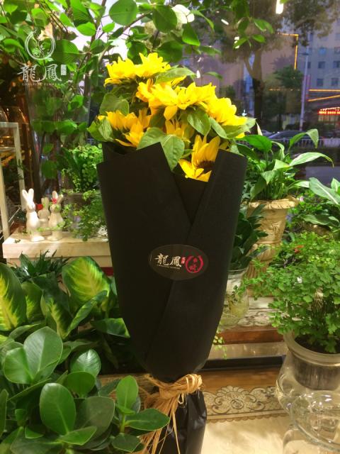 向日葵 欧式花束