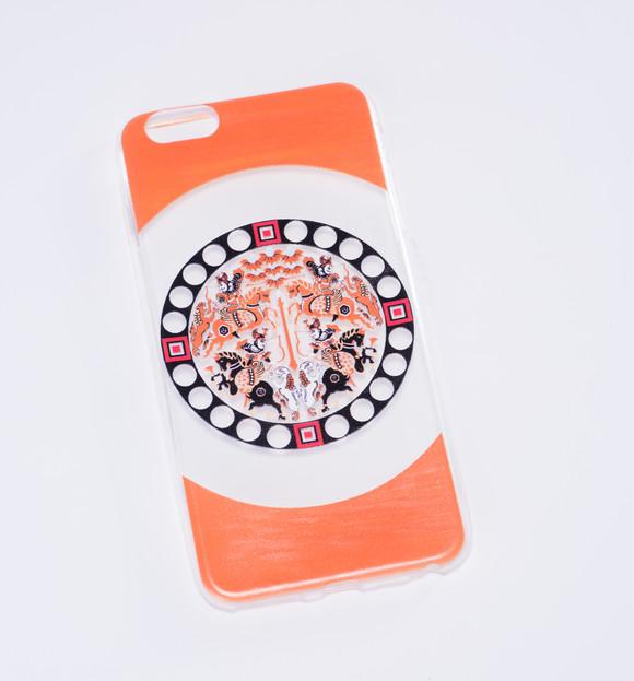 蜀锦纹样iphone6 plus手机壳图片