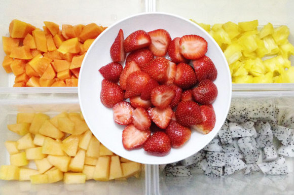 商品详情 水果单品拼盘—以下任选一种 西瓜 白兰瓜 橙子 小番茄 葡萄