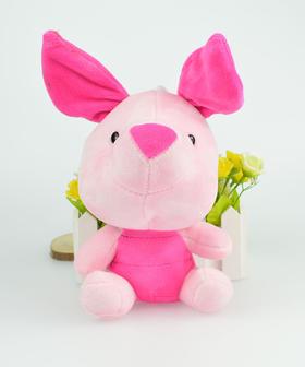 粉色小猪猪毛绒玩具可爱女生生日礼物 汽车饰品
