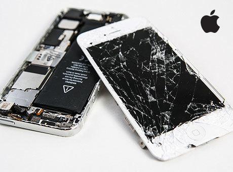 苹果手机屏幕故障