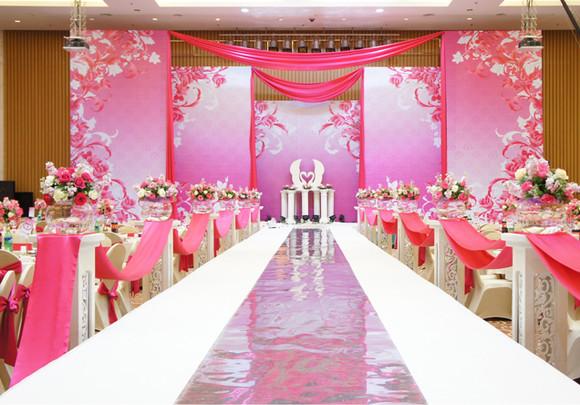 高端婚礼布置会场
