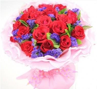 微信玫瑰花只有三朵好看的图片图片