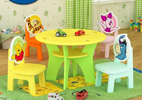 迪士尼儿童卡通桌椅