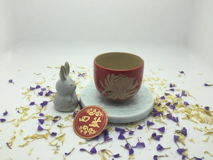 陶瓷手绘简单图片步骤