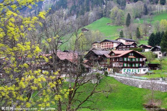 瑞士农村老房子
