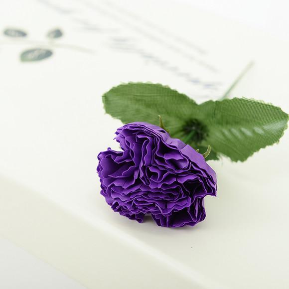 手工高端康乃馨香皂花束礼盒包邮创意教师节母亲节节