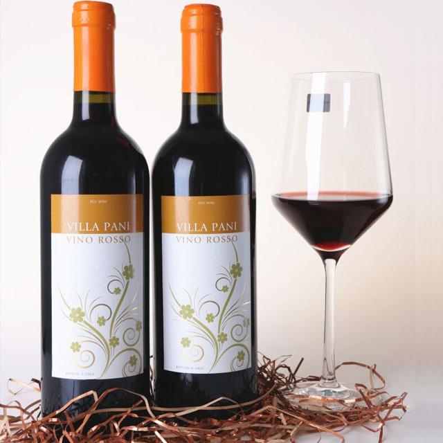 意大利维拉干红葡萄酒图片