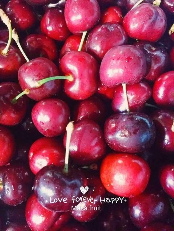 【masa水果】美国加州车厘子4斤 进口樱桃新鲜水果空运果径约30mm