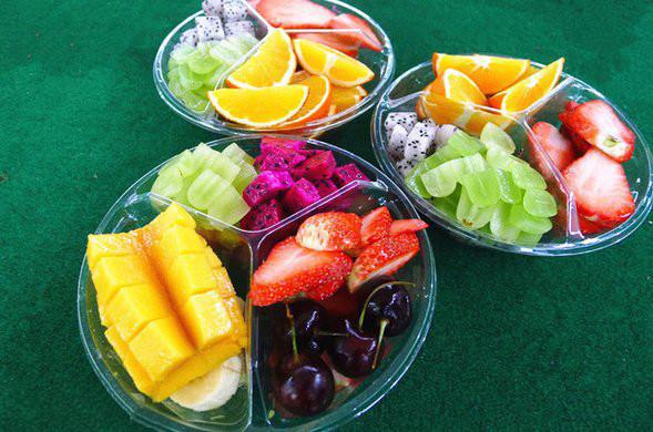 【水果女王,鲜果切盒,水果便当】内含7中水果